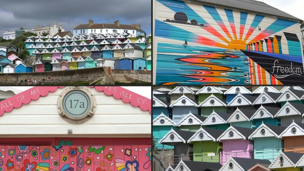 Beach huts are a peculiarly British passion. Designed to shield holidaymakers from fair weather or foul, as well as offering the perfect spot to make a cup of tea, the cabins have shot up in popularity during the Coronavirus pandemic, with most overseas t