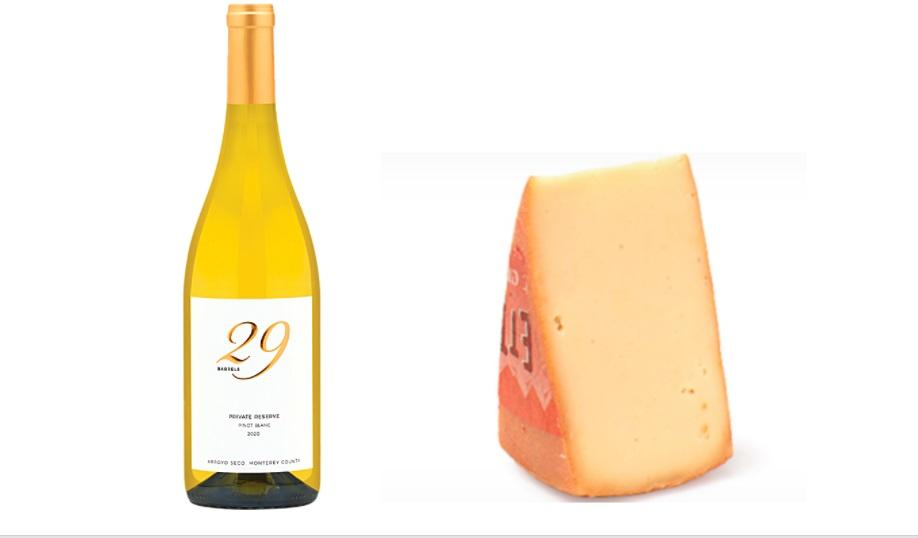 Pinot Blanc and Raclette