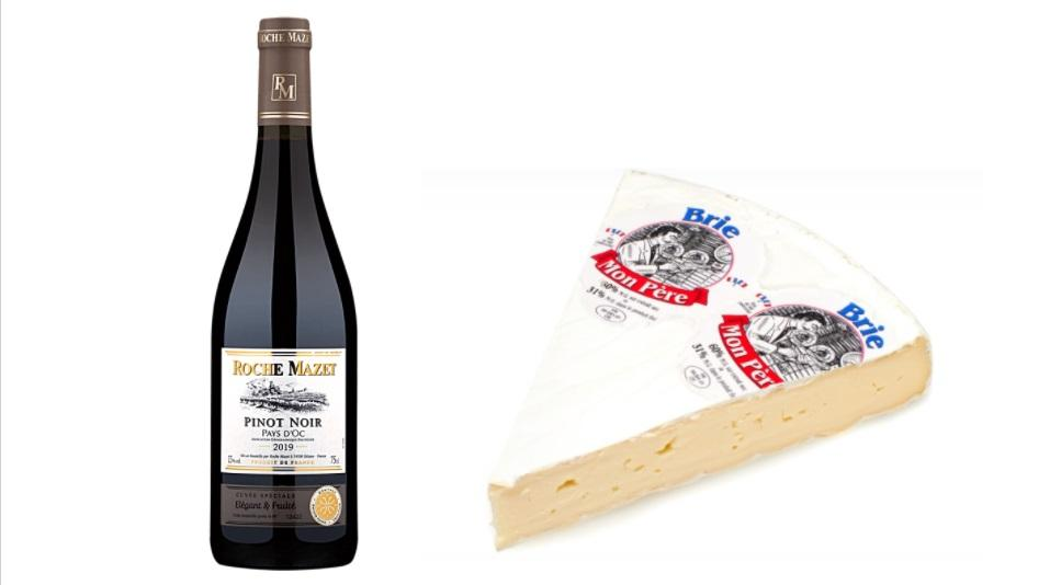 Pinot Noir and Brie