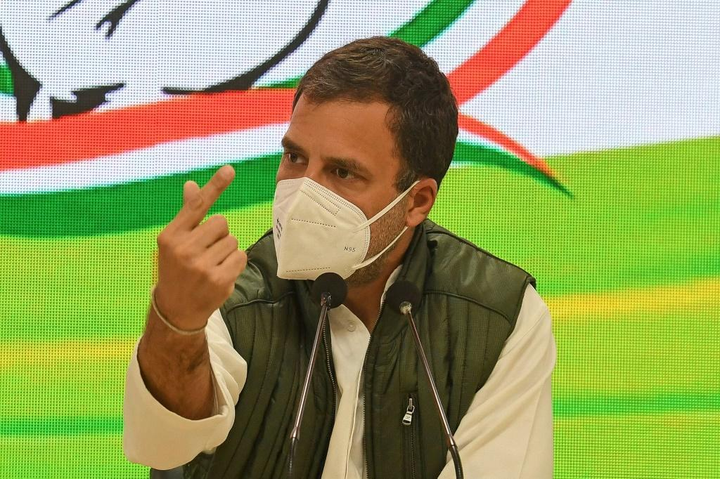 Rahul Gandhi accused the Indian government of treason
