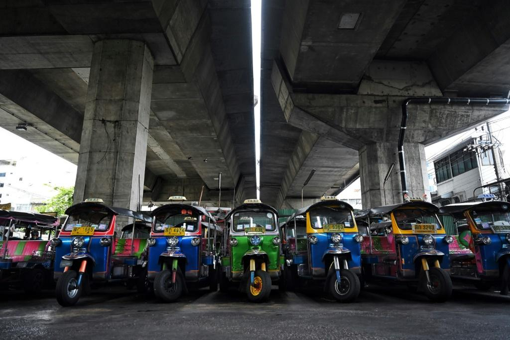 Tuk-tuk motortaxis -- once a ubiquitous sight around Bangkok's historic neighbourhoods and a favourite transport mode of foreign travellers -- have largely disappeared from roads