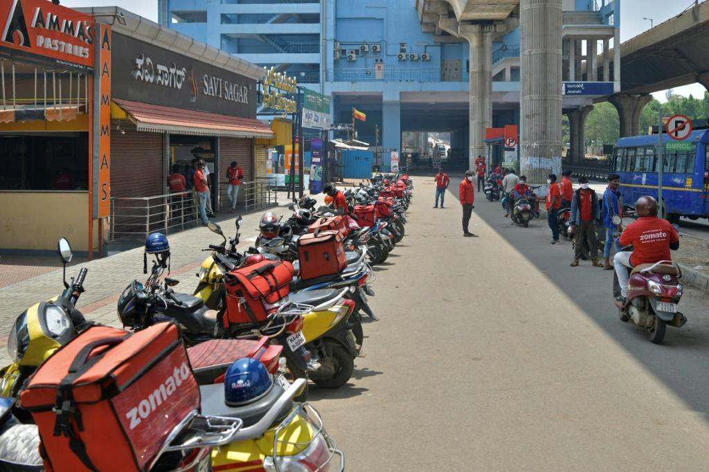Zomato dominates India's booming app-based food-delivery space alongside rival Swiggy