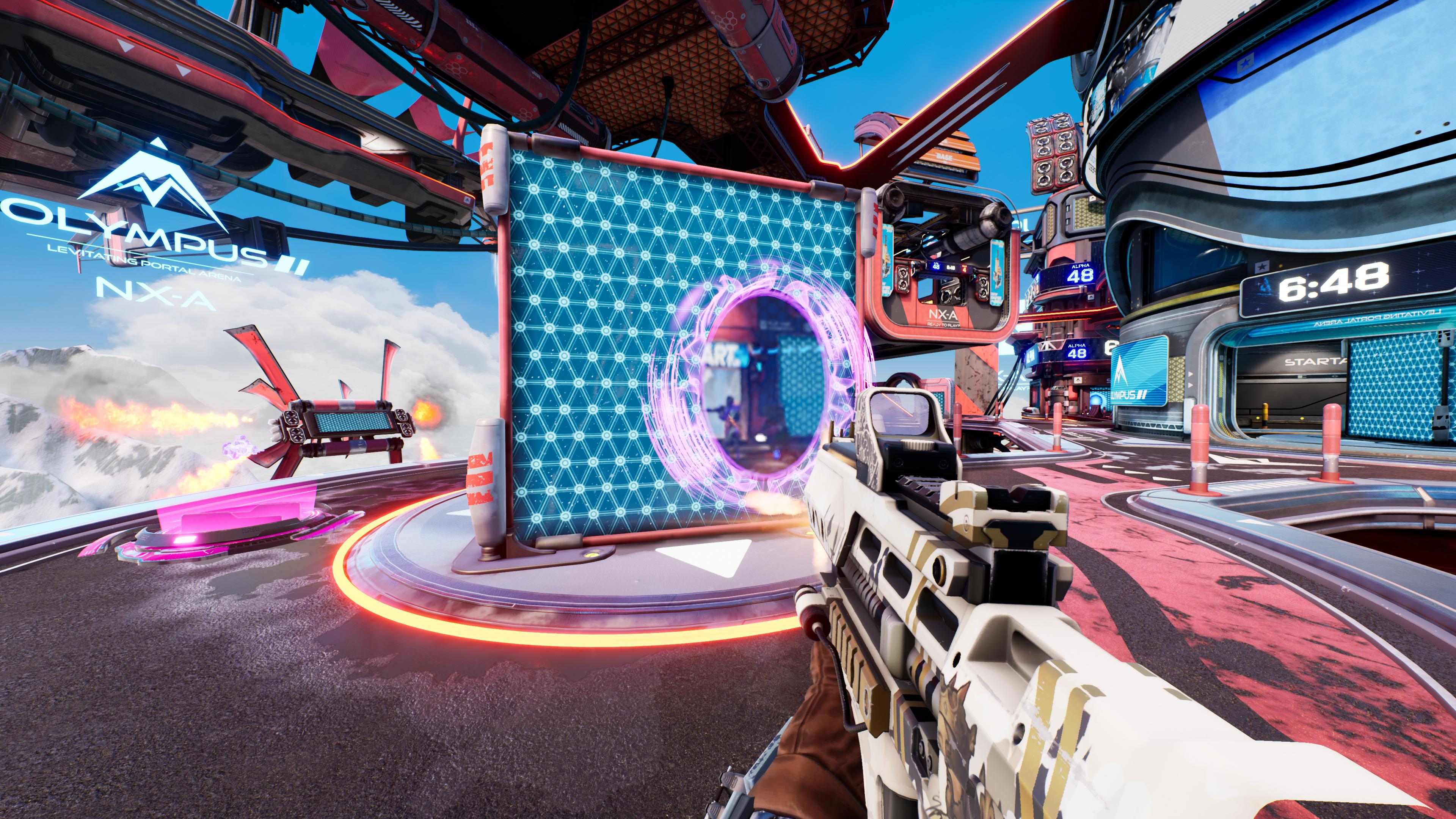 Splitgate combines Halo and Portal to create an insanely fast online arena shooter that rewards mechanical skill and quick thinking