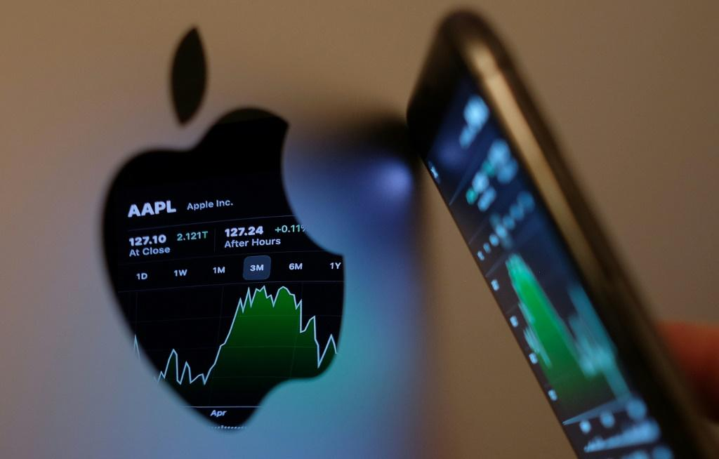 Apple said revenue from iPhone sales jumped some 50 percent and posted increases for its increasingly important services such as digital payments, music, streaming television and gaming