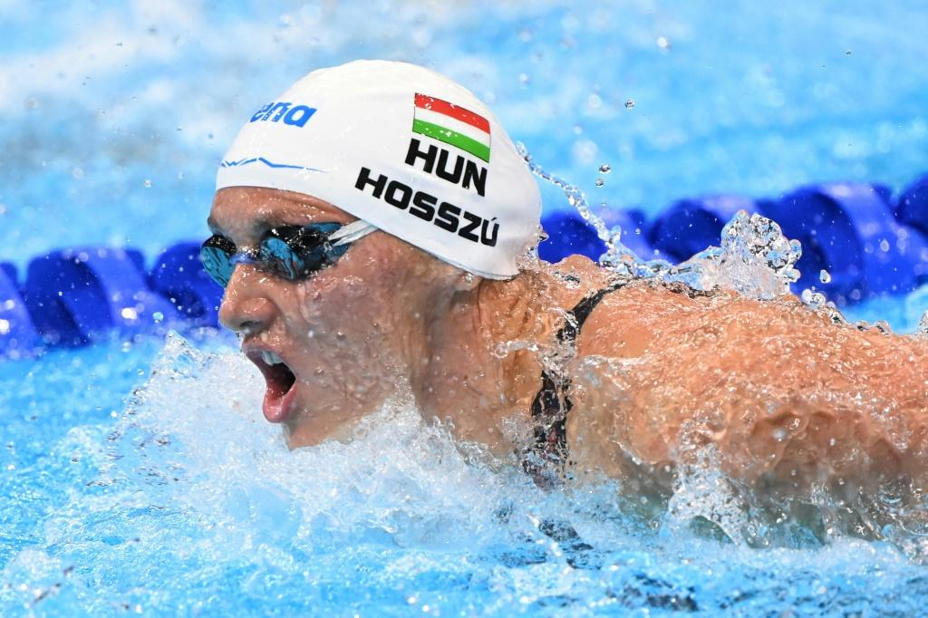 Hungary's defending champion Katinka Hosszu is seeking to make up for a miserable start to the Olympics