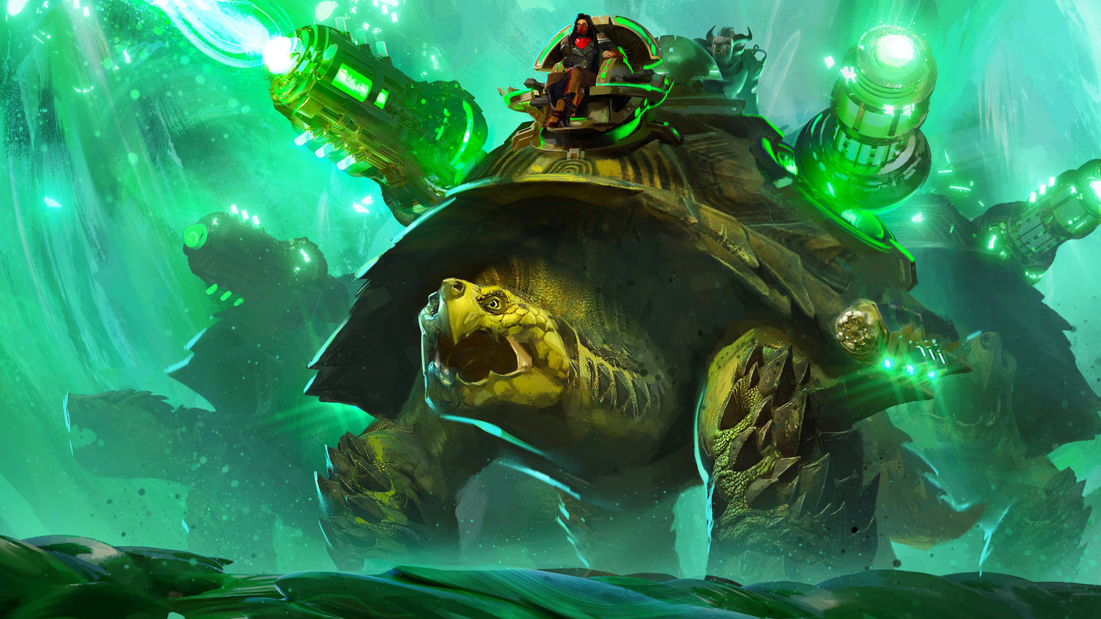 Giant Siege Turtles are coming as two-seater mounts for Guild Wars 2 End Of Dragons