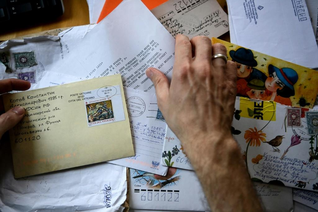 """Konstantin Kotov says the letters he received while in prison stopped him from """"breaking down"""