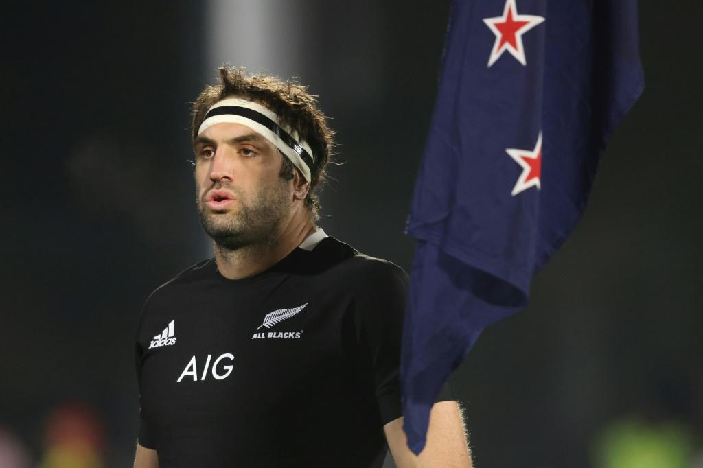 Sam Whitelock, captain of the All Blacks, whose shorts will now carry the Ineos logo