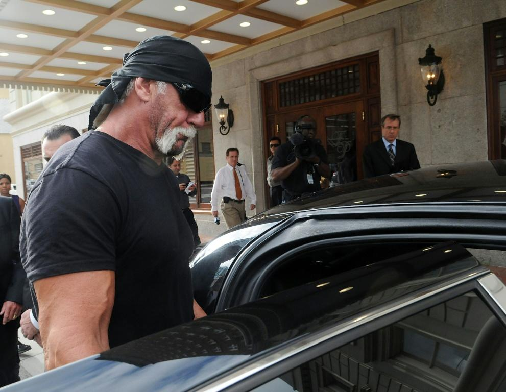 TV personality Terry Bollea aka Hulk Hogan, seen in a 2012 picture, sued Gawker Media over publication of a sex tape, eventually forcing the group into bankruptcy