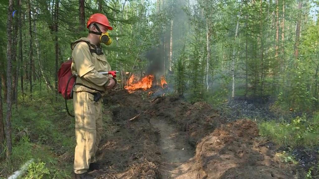 As wildfires sweep across the vast Siberian region of Yakutia, Yegor Zakharov and his team are racing to stop its smouldering forests from burning even more