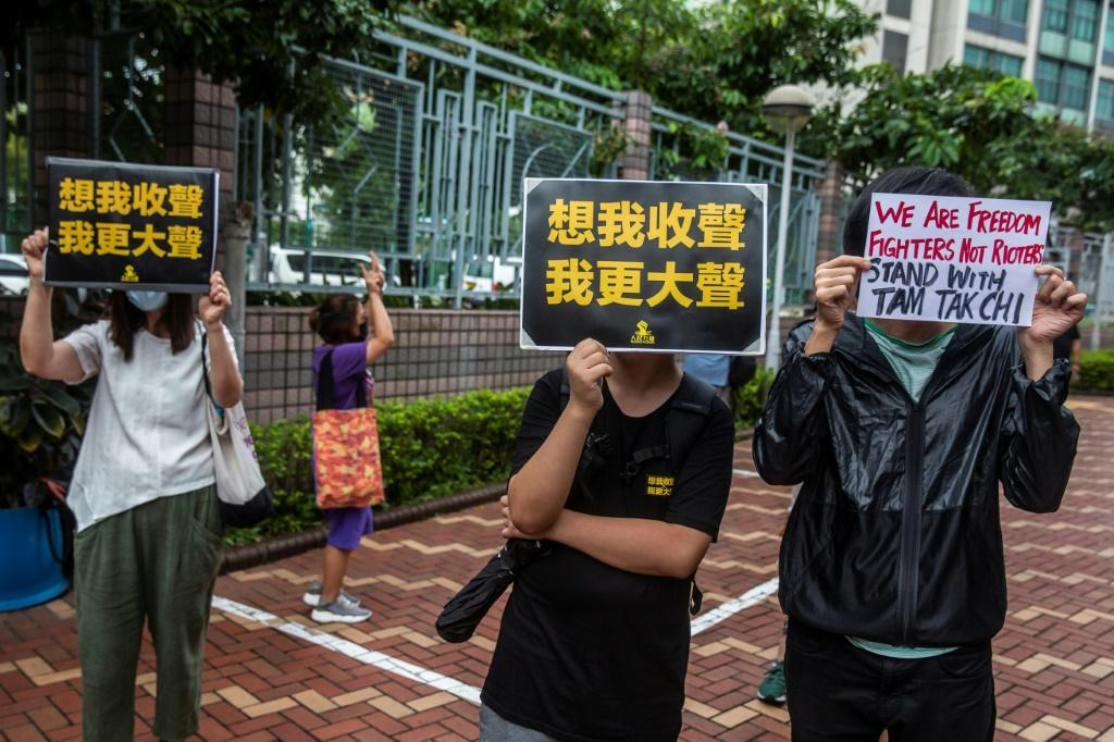 Hong Kong DJ Tam Tak-chi, better known as 'Fast Beat', is facing trial for sedition under a colonial-era law