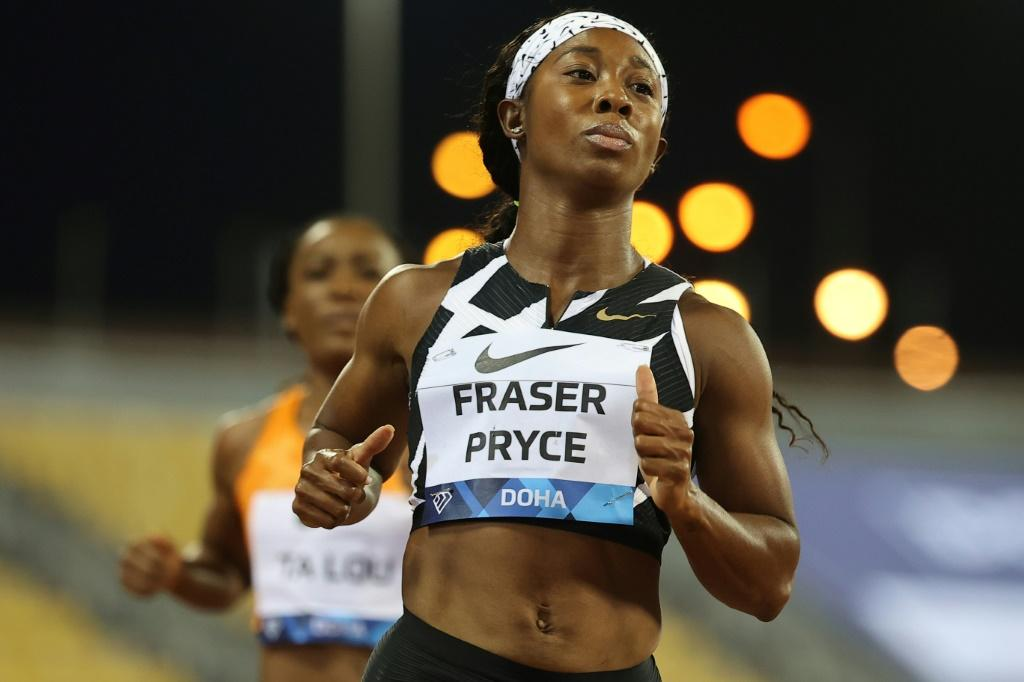 Jamaica's Shelly-Ann Fraser-Pryce will contest the women's 100m heats on Friday