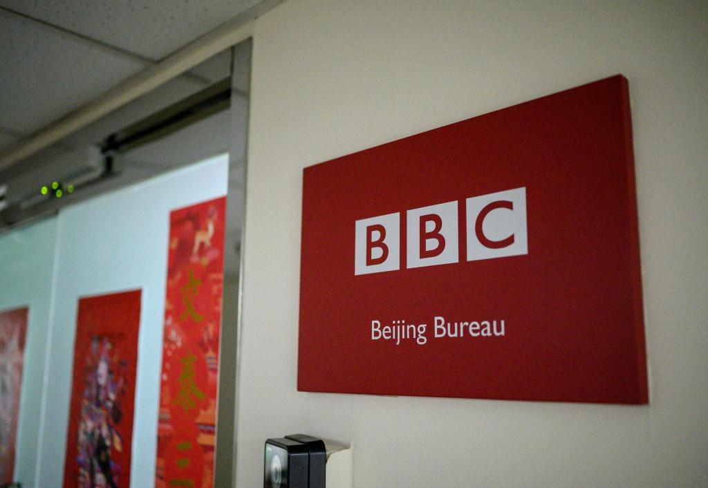 The BBC said its reporters covering the floods in China had been subjected to online vitriol