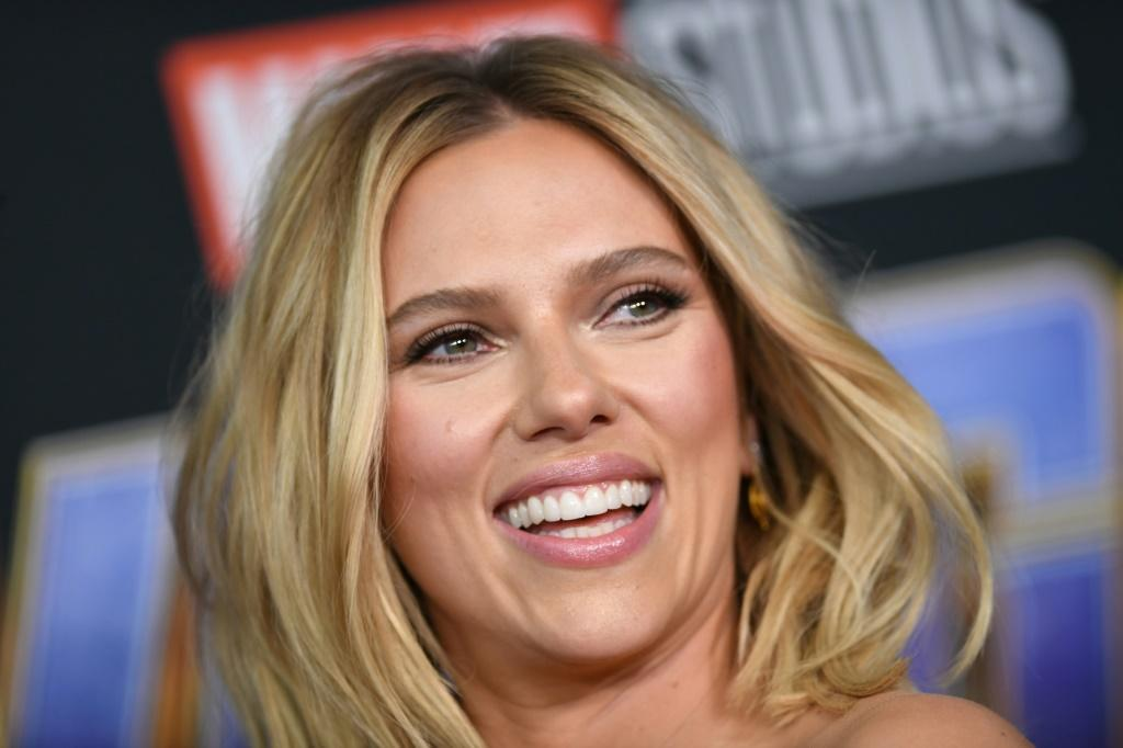 """US actress Scarlett Johansson, one of Hollywood's biggest and top-paid stars, was reportedly entitled to a percentage of box office receipts from """"Black Widow"""