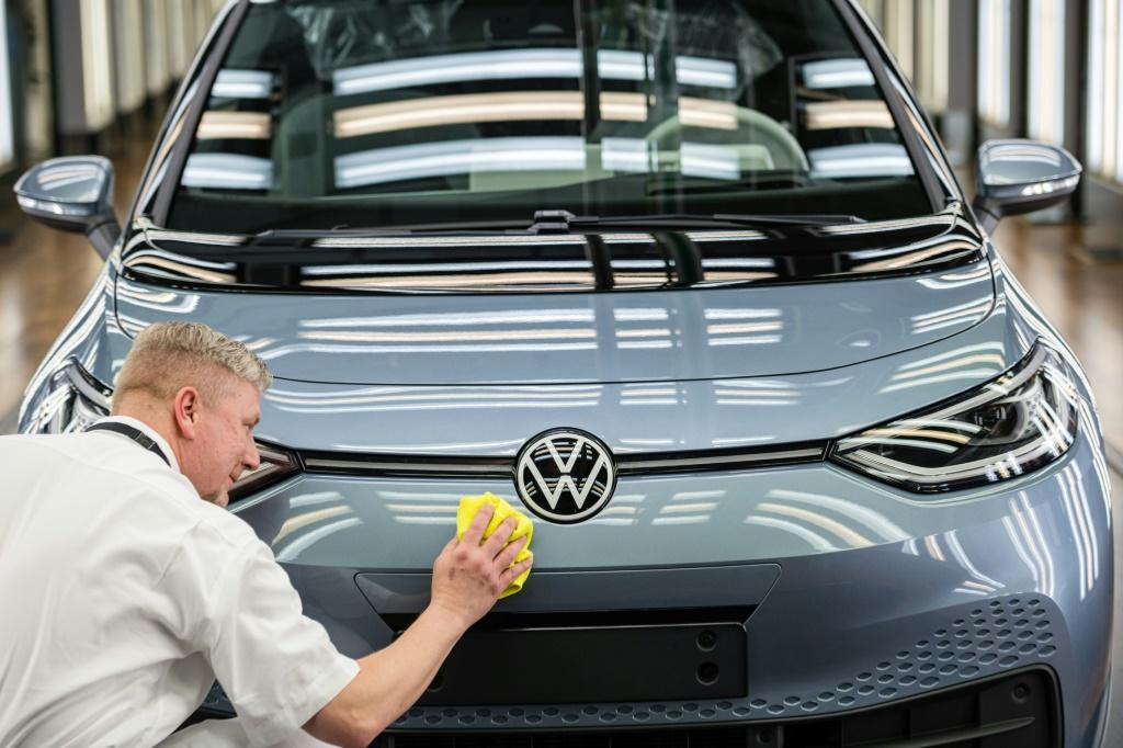 Volkswagen is betting its future on electic vehicles, like this ID 3