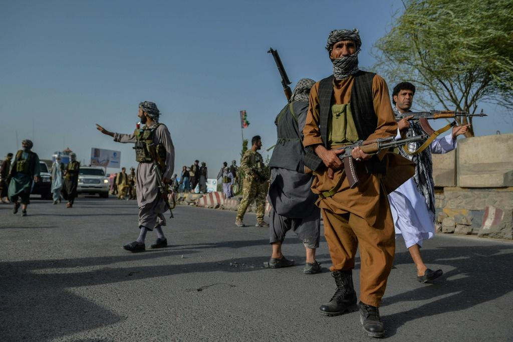 Afghan forces and militiamen of veteran warlord and anti-Taliban commander Ismail Khan have been deployed around the city in recent days