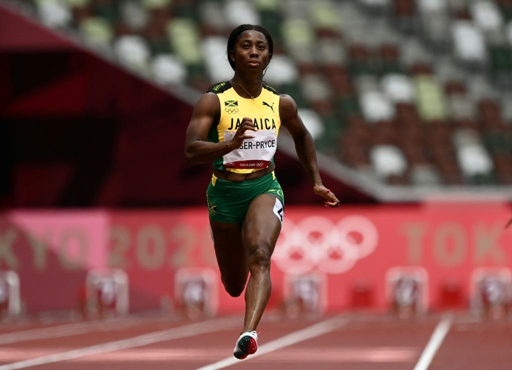 Shelly-Ann Fraser-Pryce looked comfortable as she started her bid for the 100m gold medal