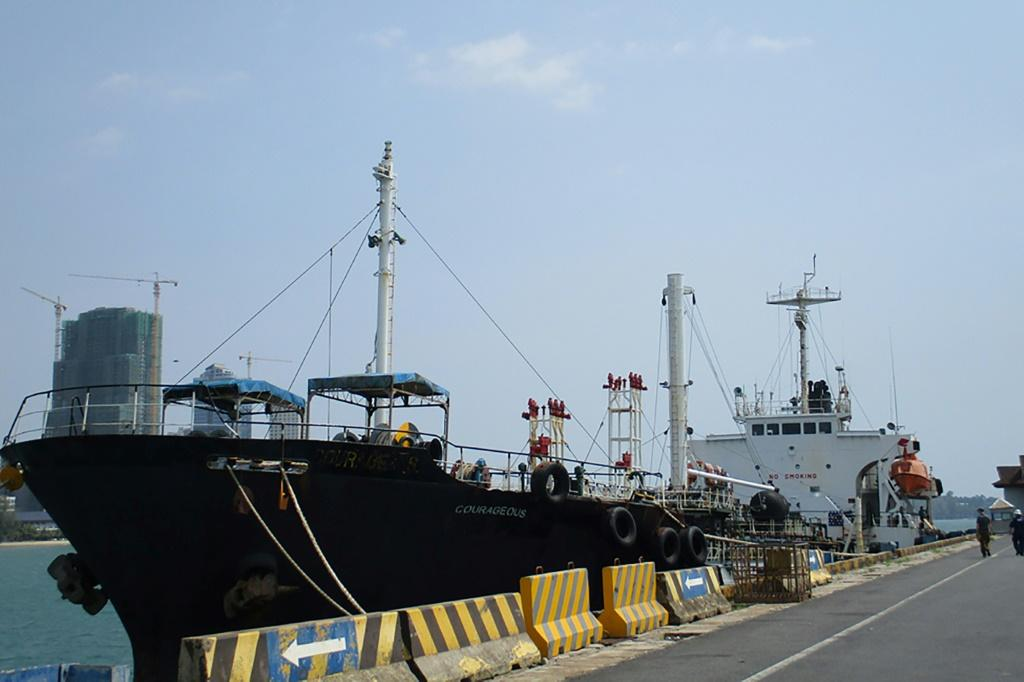 The oil tanker M/T Courageous has been seized by US authorities over illegal oil deliveries to North Korea