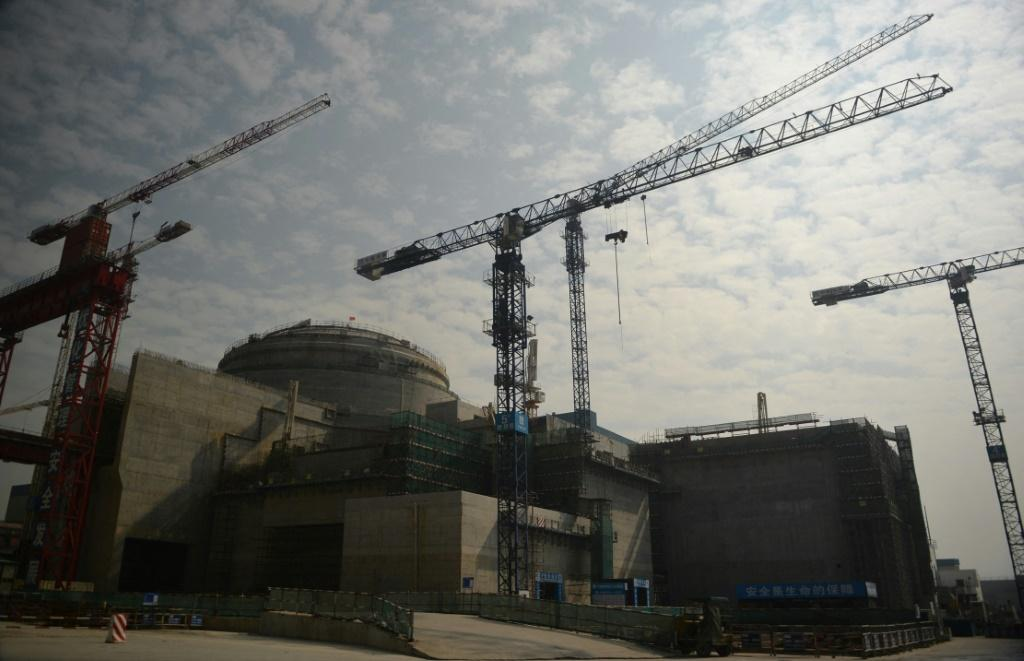 The reactor is located in Taishan in China's southern Guangdong province, not far from Hong Kong