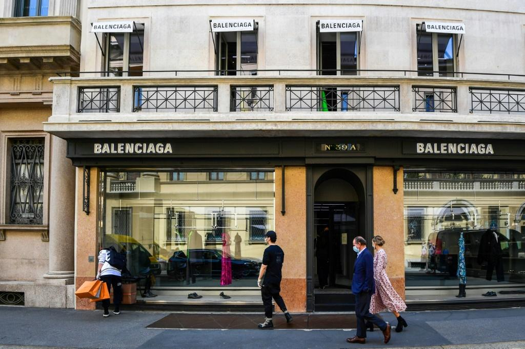 Kering -- which owns the Gucci and Balenciaga brands -- surpassed its pre-pandemic level by 8.4 percent with a record eight billion euros in sales