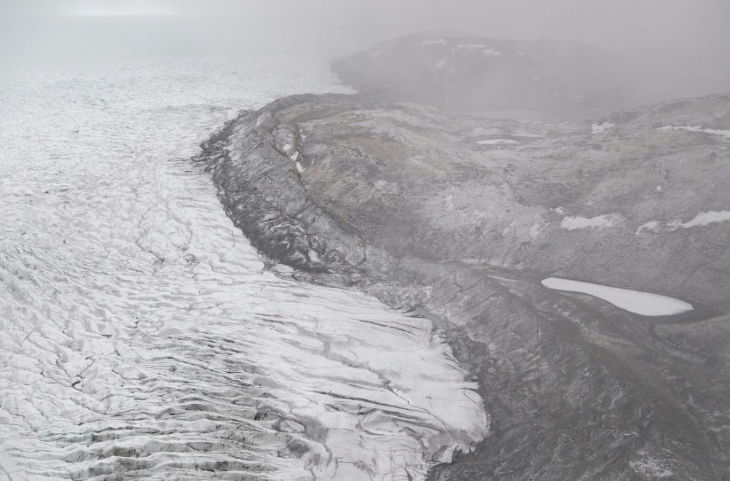 The Greenland Ice Sheet is the second largest mass of freshwater ice on the planet, second only to Antarctica