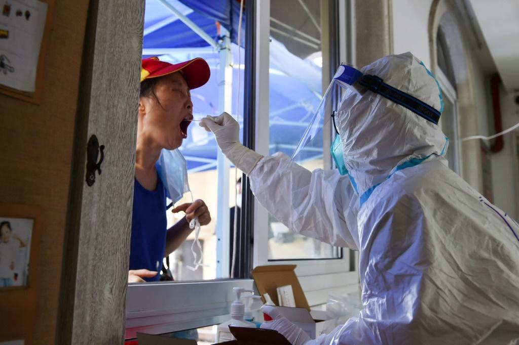 China is trying to contain its largest coronavirus outbreak in months