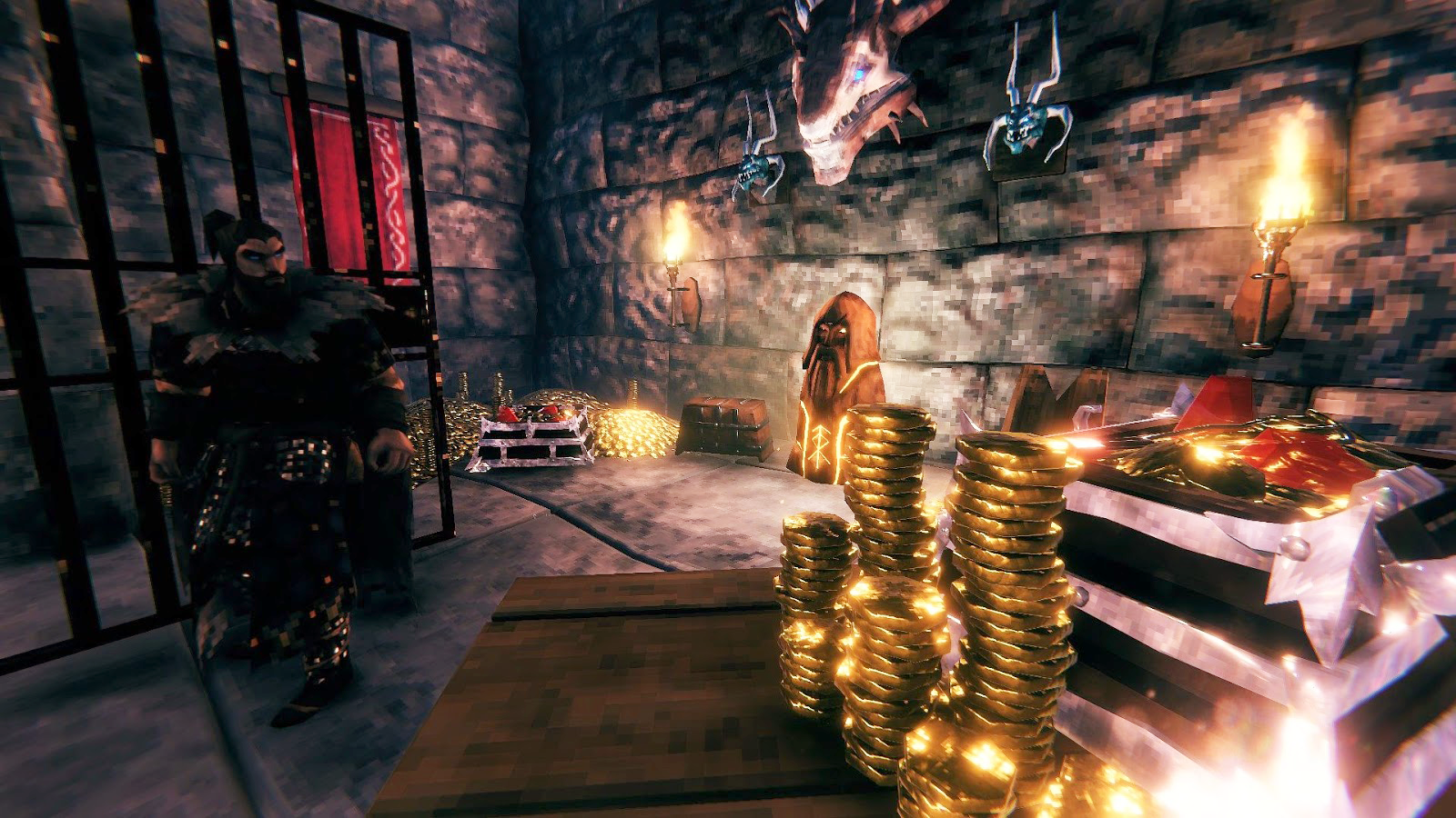 New stackable coins and coin piles featured in Valheim's Hearth and Home update