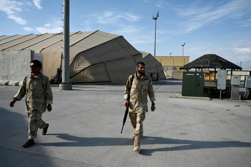 Officials on July 2 announced the departure of all US and NATO troops from Bagram, Afghanistan's biggest air base