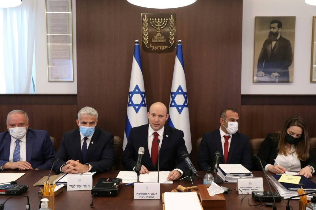 The Israeli government approved a budget for the years 2021 and 2022 after a three-year stalemate but it still needs parliament's endorsement