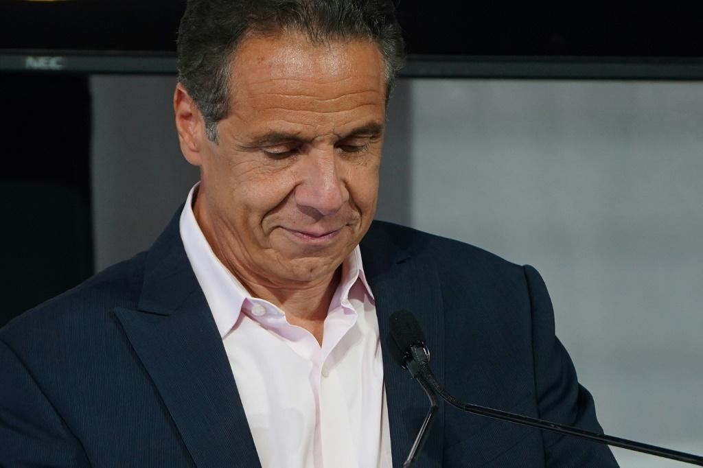 New York governor Andrew Cuomo, shown here in New York on June 9, 2021, has denied sexually harassing multiple women including employees
