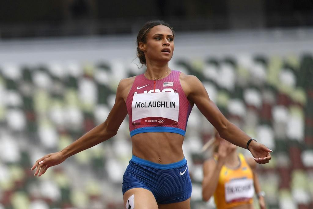 Sydney McLaughlin wins the women's 400m hurdles gold at the Tokyo Olympics