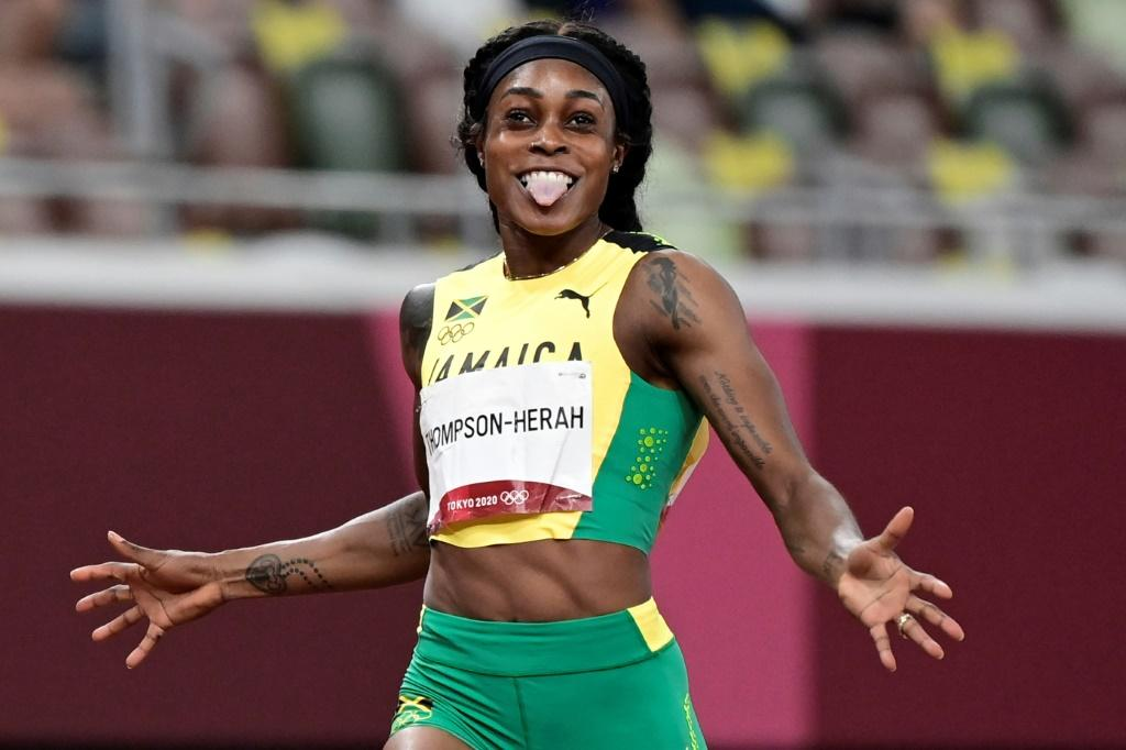 Jamaica's Elaine Thompson-Herah won the 100m and 200m sprints at the Tokyo Olympics