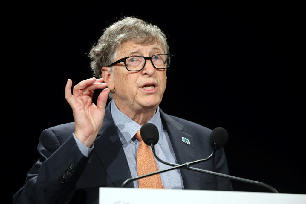 Microsoft co-founder Bill Gates (pictured October 2019) said he only met with Jeffrey Epstein to raise money for the Bill & Melinda Gates Foundation
