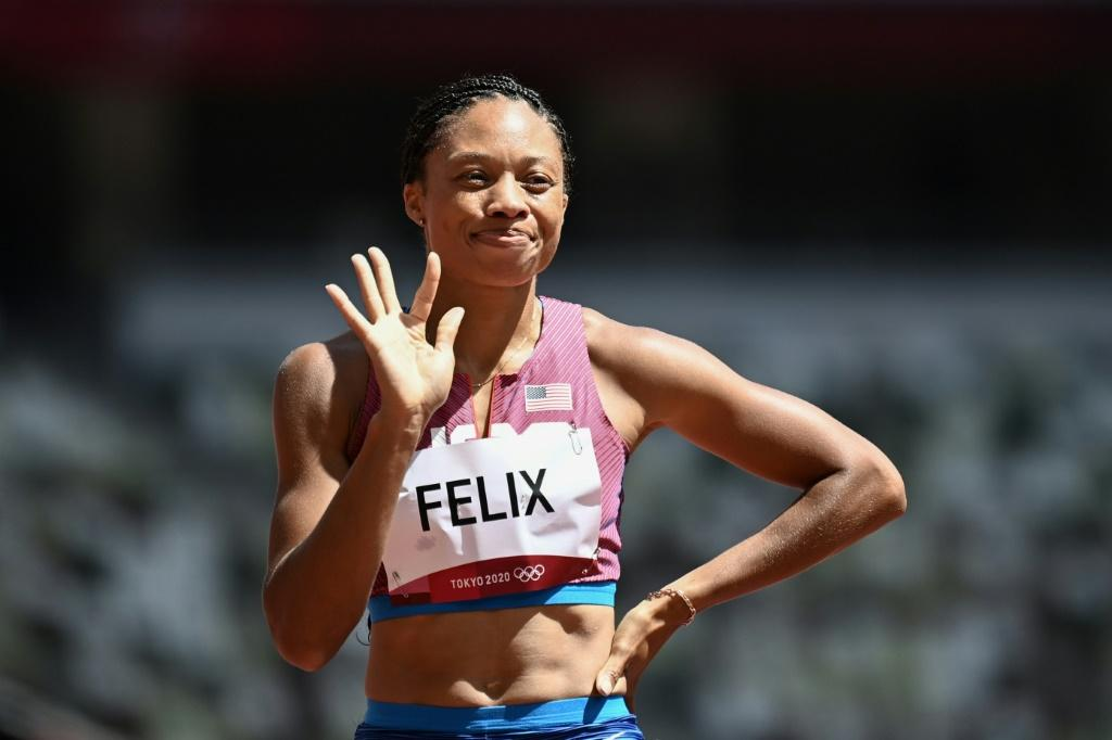US track star Allyson Felix is competing at her fifth and final Olympics