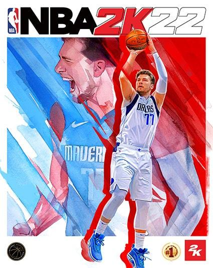 NBA 2K22 features the Dallas Mavericks' Luka Doncic as the cover athlete