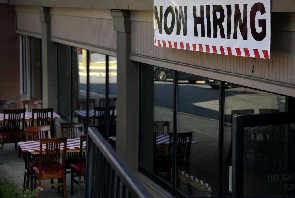 New filings for unemployment claims have dropped for four straight weeks to a new post-pandemic low as the labor market recovers