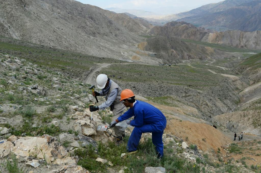 The country's untapped mineral riches have been estimated at $1 trillion, though Afghan officials have put it three times as high