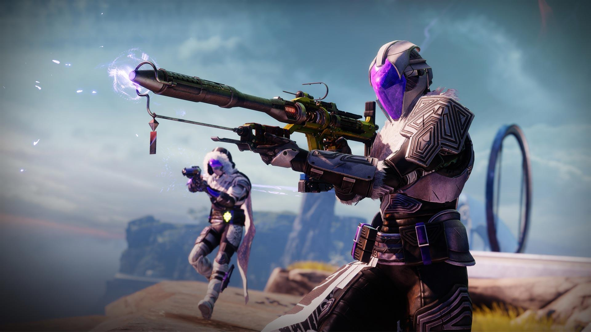 The Lorentz Driver is a new exotic Linear Fusion Rifle introduced in Destiny 2's Season of the Lost