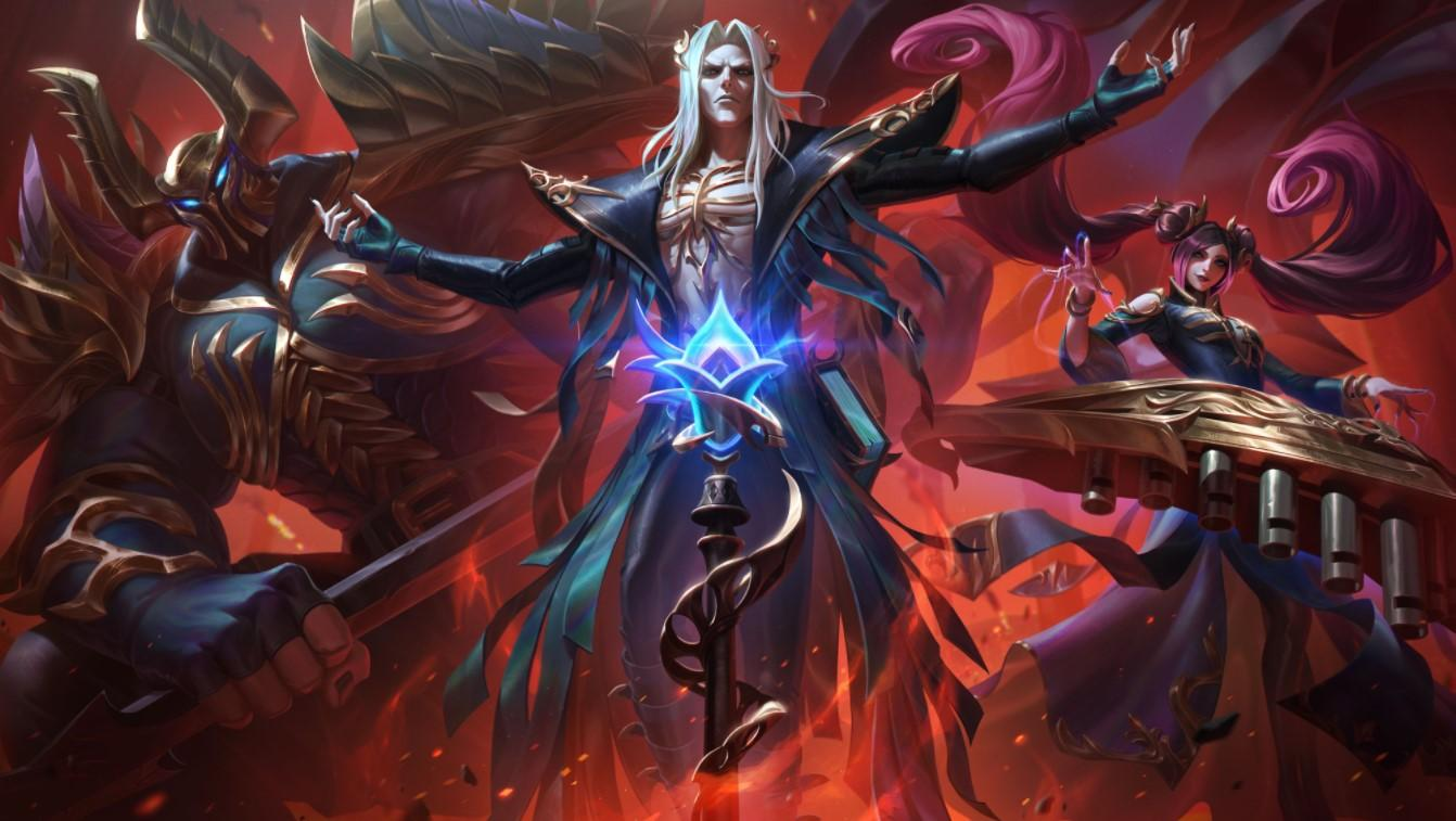 Pentakill's Lost Chapter album will release alongside new skins for all of the band's members