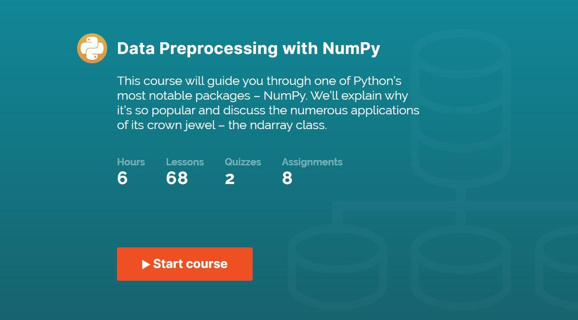 365 Data Science's Data Preprocessing with NumPy