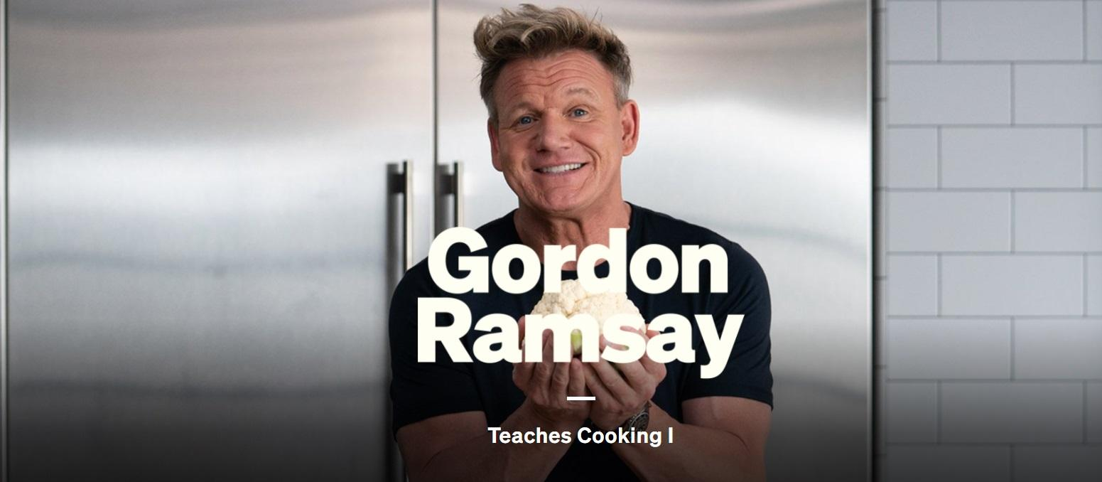 MasterClass Cooking with Gordon Ramsay