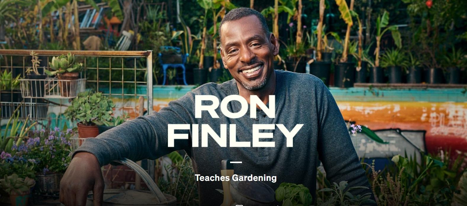 MasterClass Gardening with Ron Finley