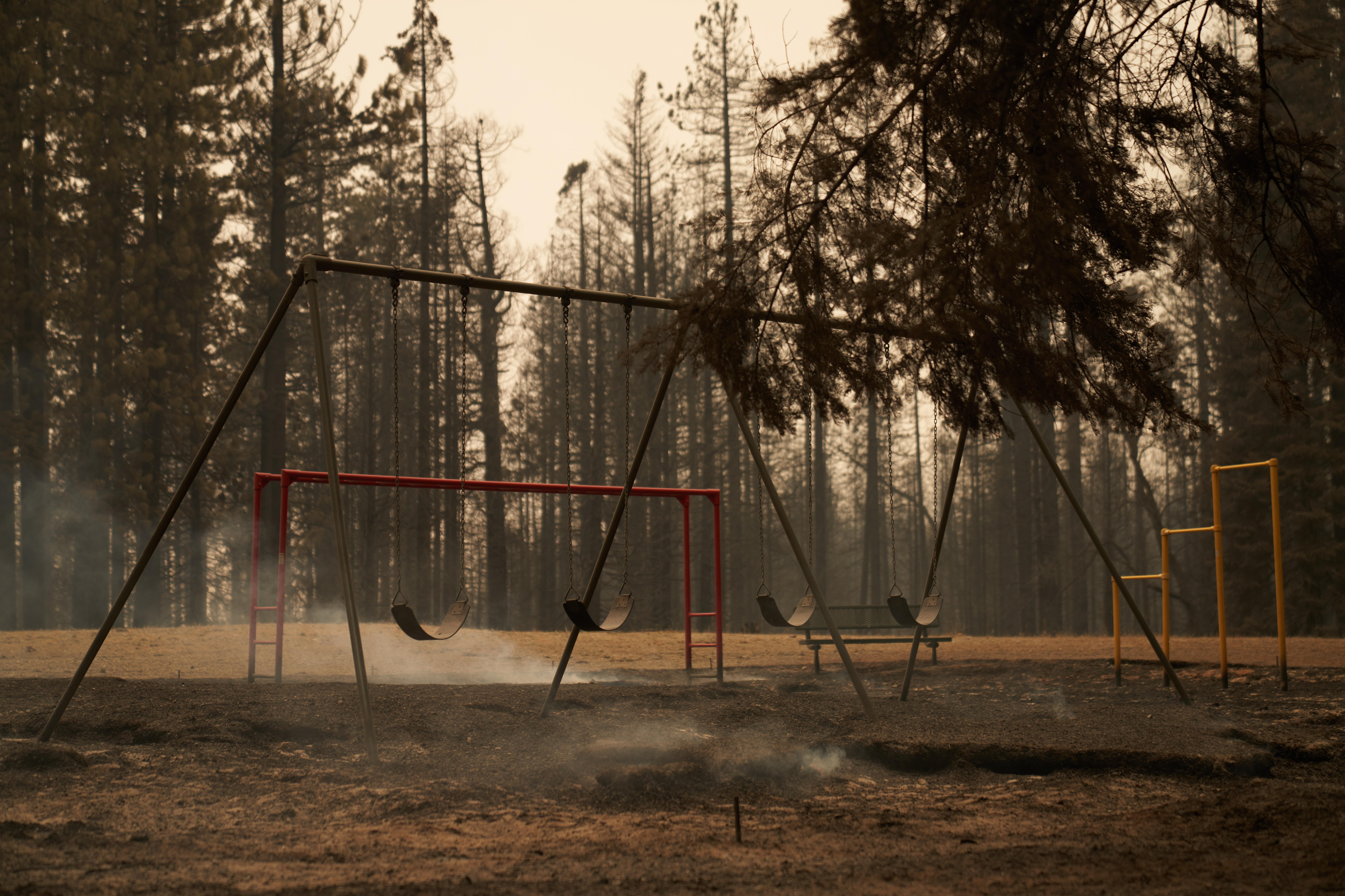 Caldor fire- GRIZZLY FLATS