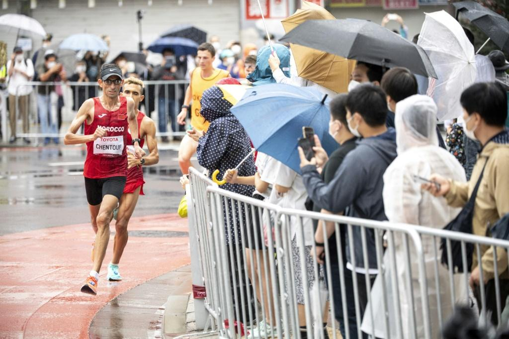 Marathon events were decided on the final day of the Tokyo Paralympics on Sunday