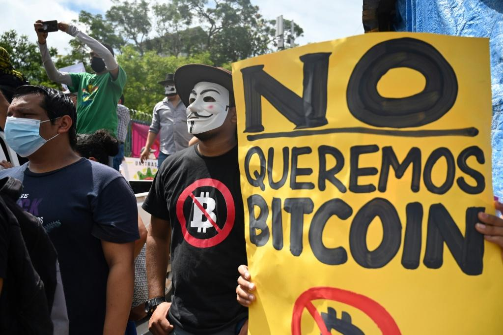 A recent opinion poll found that 70 percent of Salvadorans opposed the adoption of bitcoin as legal tender, and hundreds protested against it on September 1, 2021