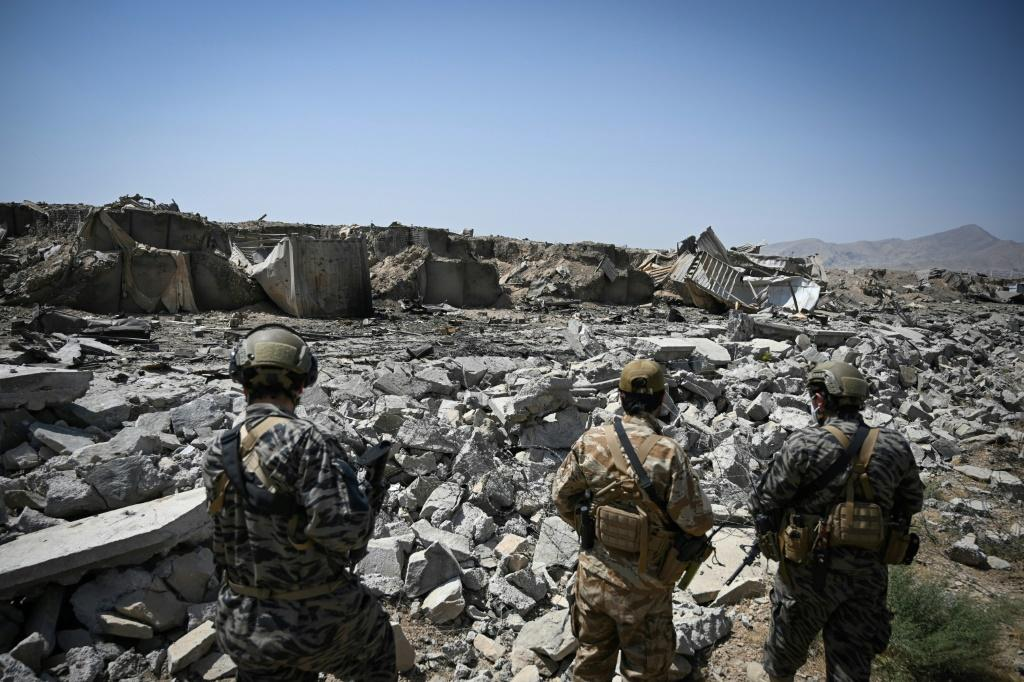 The US destroyed the last CIA base in Afghanistan as its troops pulled out