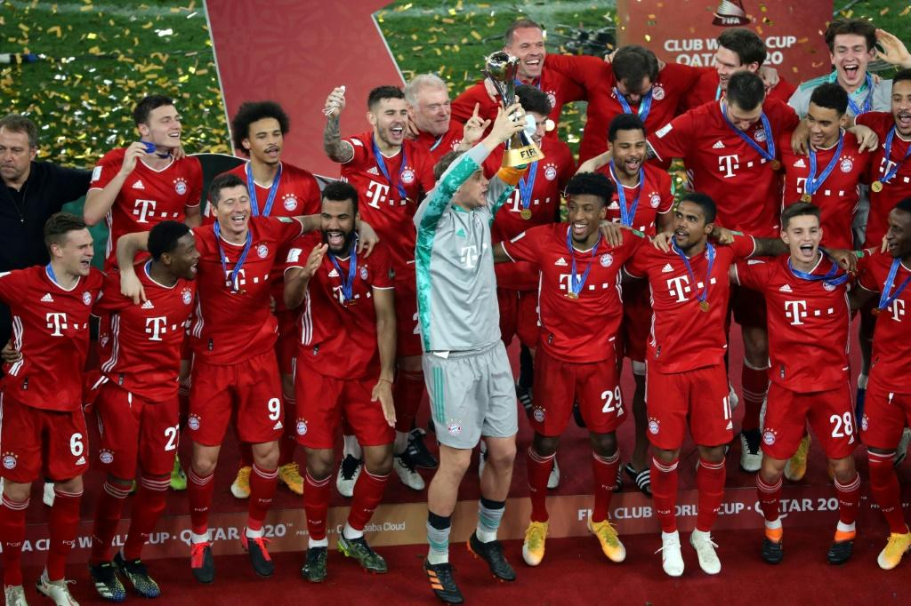 Bayern Munich won the 2020 Club World Cup in Qatar, which was postponed to February 2021 because of the pandemic