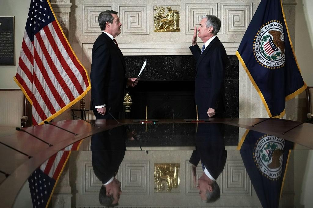 Federal Reserve Chair Jerome Powell's first four-year term as head of the central bank ends in early February