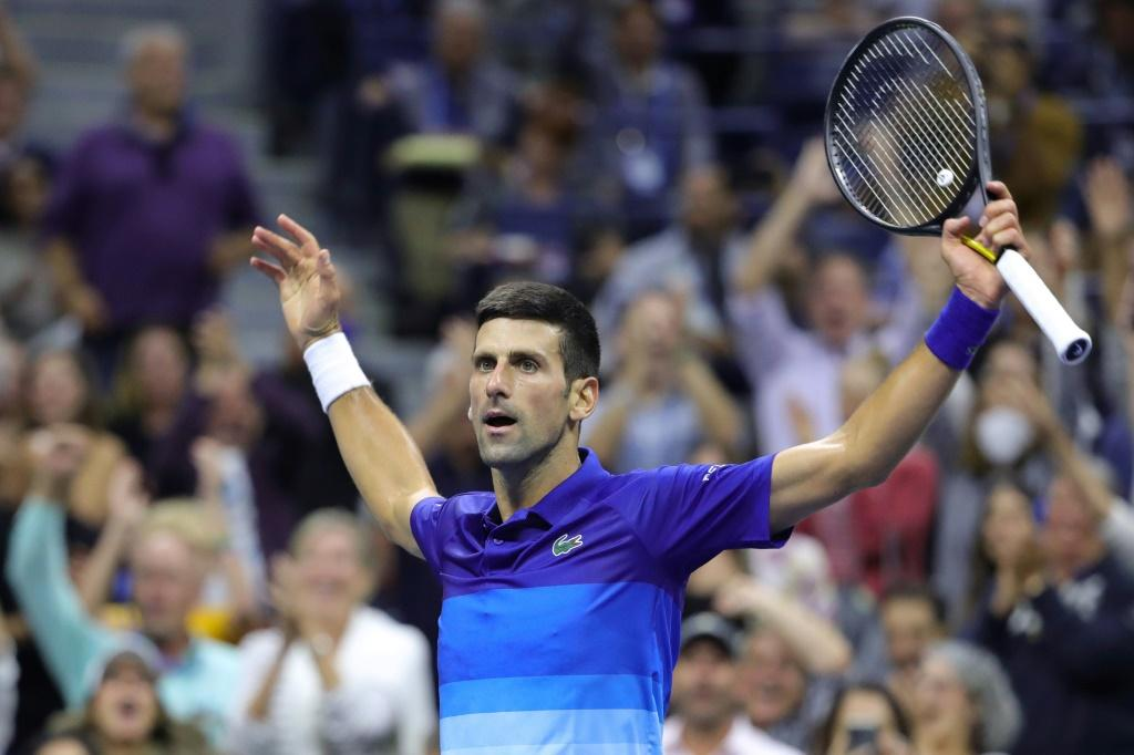 Serbia's Novak Djokovic reached the brink of completing the first men's singles calendar-year Grand Slam since 1969 by defeating Alexander Zverev on Friday to reach the US Open final