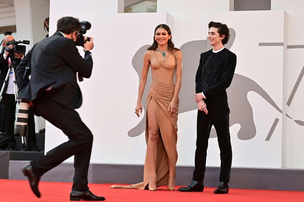 """Zendaya and Chalamet were among the cavalcade of stars in """"Dune"""", which got its world premiere playing out of competition in Venice"""